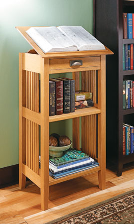 Craftsman Library Stand