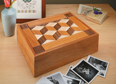 Quilt-Top Keepsake Box