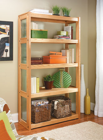 Knock-Down Bookcase