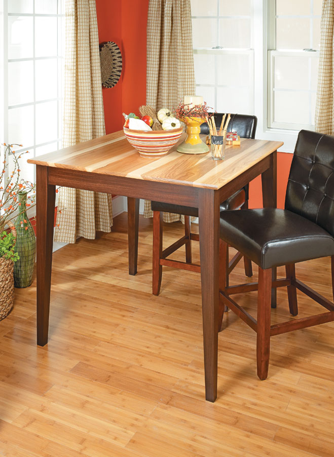 Gathering Table Woodworking Project Woodsmith Plans