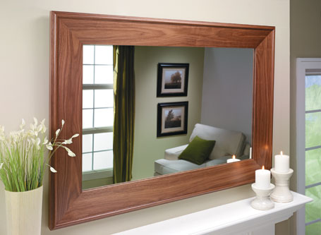 Walnut Mirror Frame