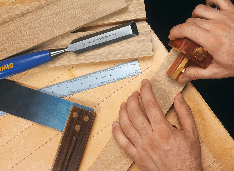 An heirloom-quality marking gauge is not only a functional and attractive tool, but a pleasure to use when laying out joinery.