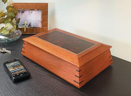 Contoured Keepsake Box