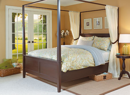 Modern Four-Poster Bed