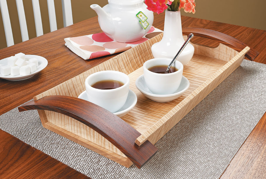 Whether you use this tray to decorate your table or serve your guests, it will surely bring style and grace to your home.