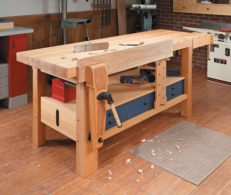 Shaker-Style Workbench