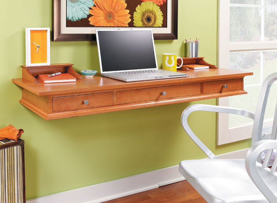 Whether it's a place for the kids to do their homework or just a handy spot for your laptop, this desk is the perfect solution.