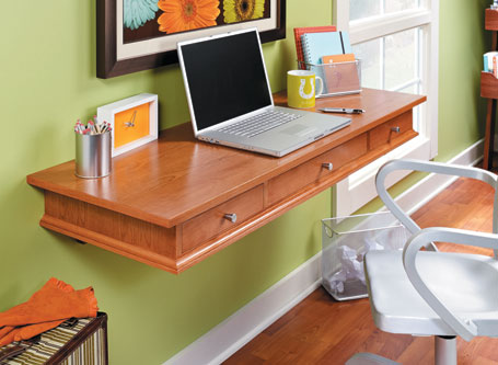 Space-Saving Wall Desk
