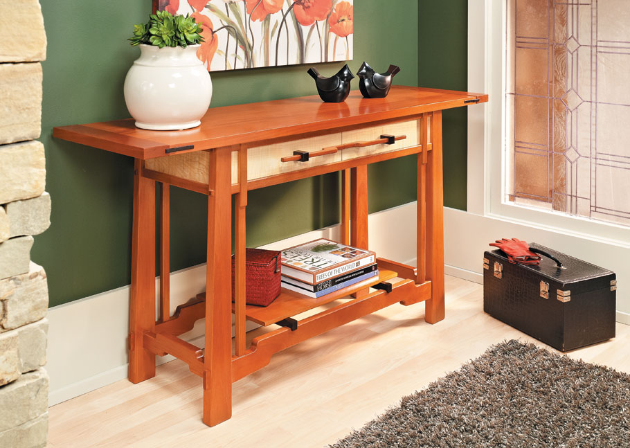 The classic design of this project, and your woodworking skill, will make a beautiful focal point in any room.