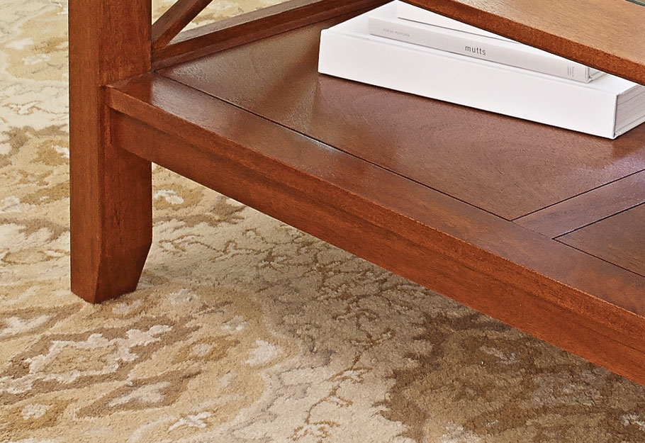 Mahogany Coffee Table | Woodworking Project | Woodsmith Plans