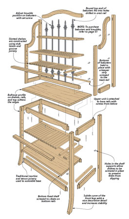 You might not need to cool a dozen fresh-baked pies, but this baker's rack can be put to good use in any kitchen.