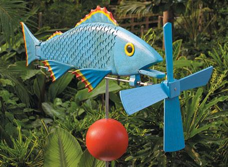 Fish Whirligig