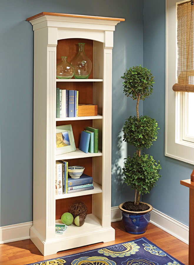 Tower Bookcase Woodworking Project Woodsmith Plans
