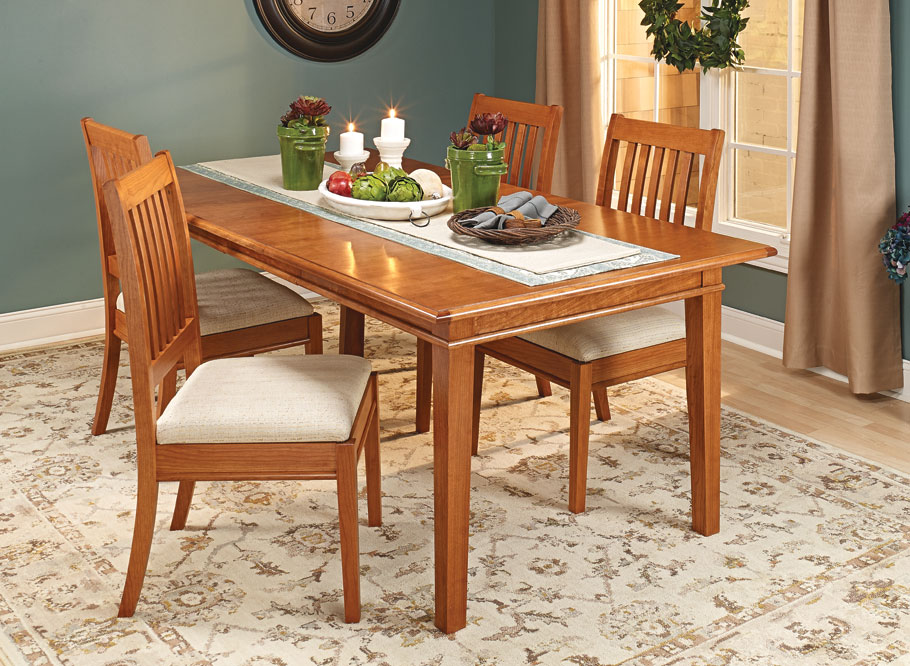 This elegant table is sure to be a worthy centerpiece for your family gatherings for generations to come.