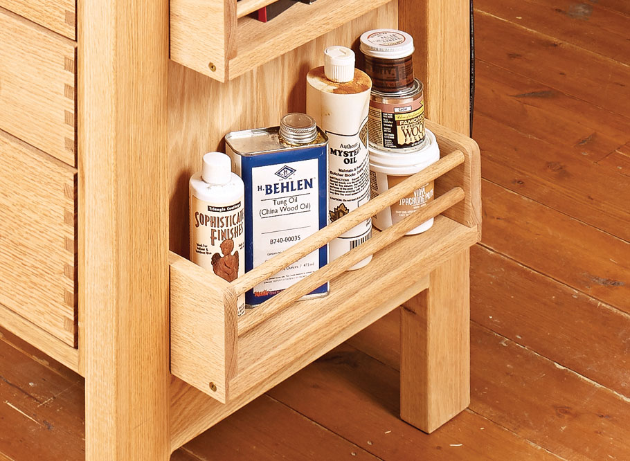 Hobby Bench Woodworking Project Woodsmith Plans