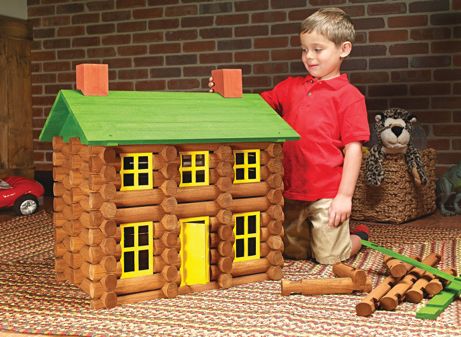 We've taken a traditional children's toy and upsized it to create a fun building set that's sure to spark creativity in young and old alike.