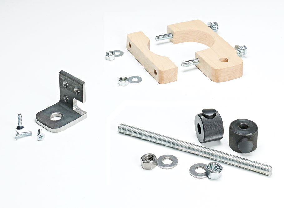 With a few pieces of simple hardware, you can build this add-on to make drilling holes at a consistent depth faster and easier.