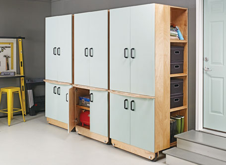 Rolling Storage Lockers