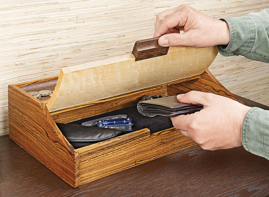 This practical organizer is a great way to show off special materials and try out unique techniques, as well.