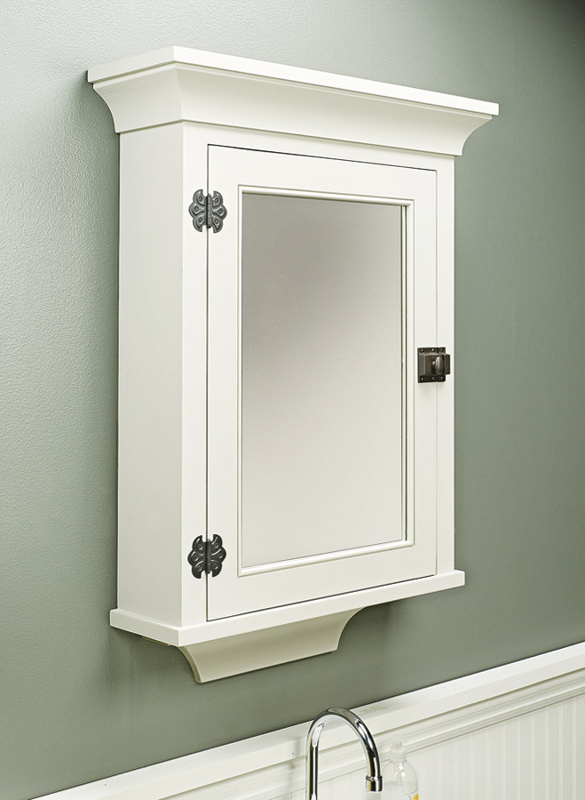 Create the perfect cabinet for your home by starting with one basic case and choosing the unique details that suit your style.