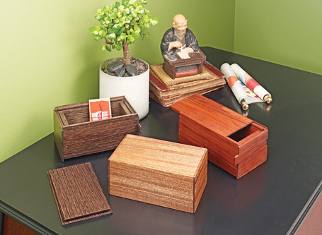 Clever Puzzle Boxes