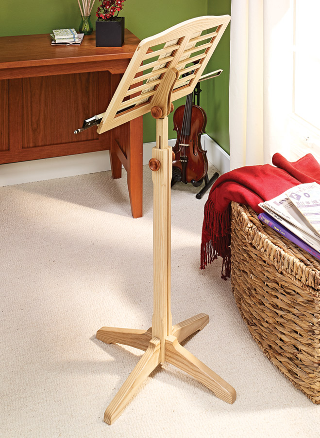 Treat the musician in your life with this great-looking and practical stand.