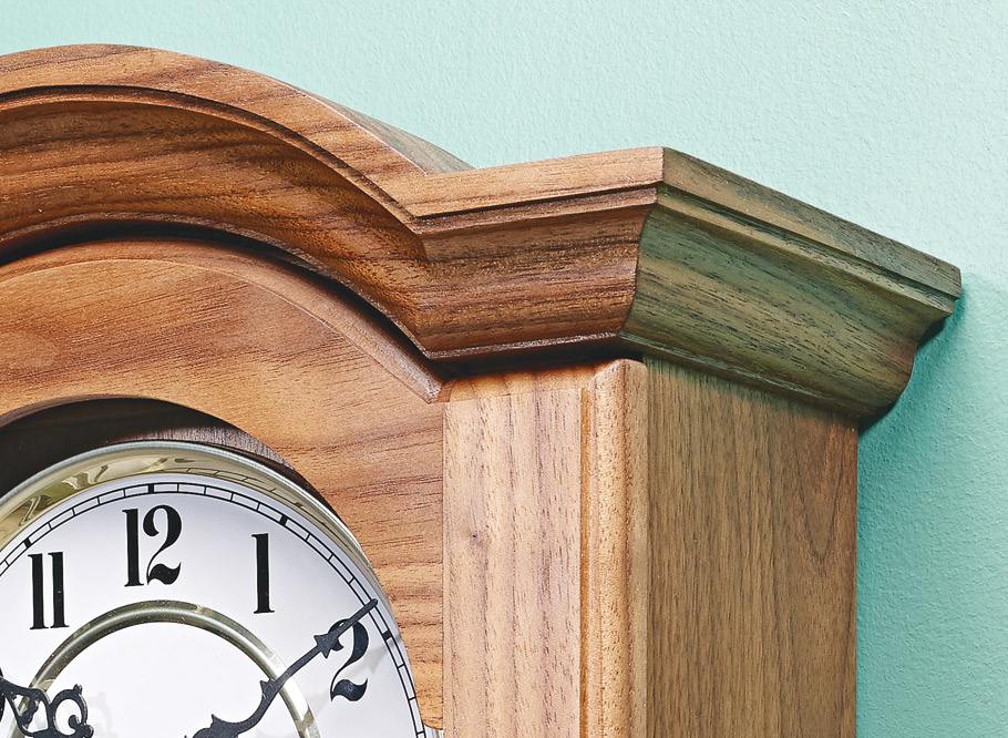 This sophisticated, but simple-to-build, pendulum clock is sure to be a treasured possession in your family for generations.