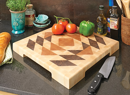 Quilted Cutting Board