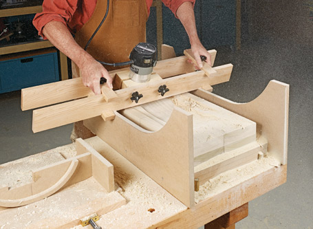 Router Carving Jig