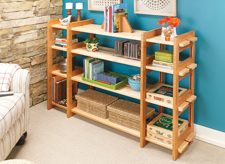 Knock-Down Shelving System
