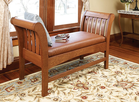 Traditional Empire Bench