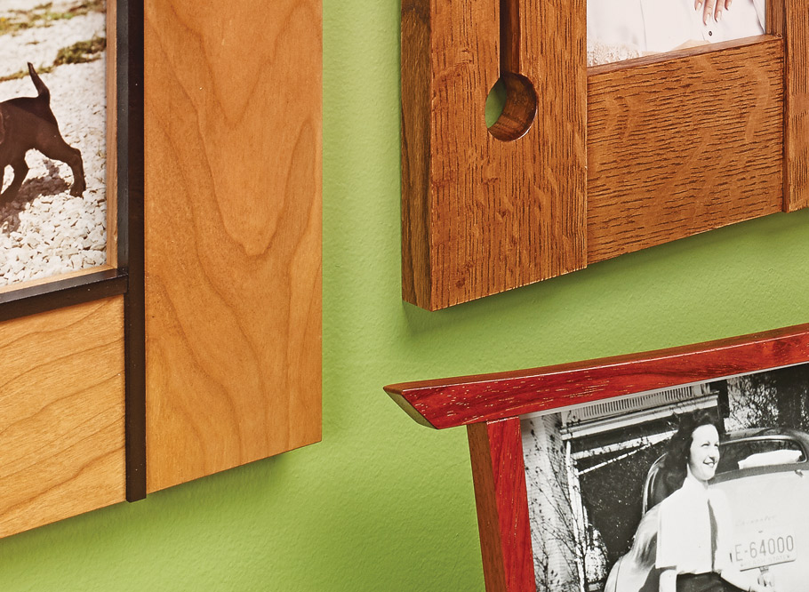 Great things come in small packages. These frames are an excellent woodworking exercise and gift project rolled into one.