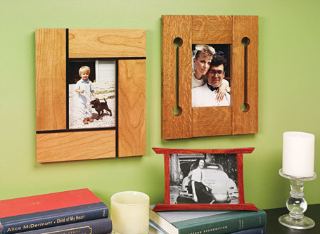 Miterless Picture Frames