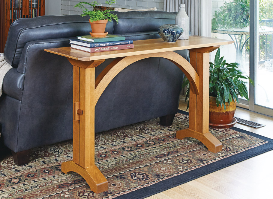 This table is a great addition to any space, casual or formal... It can be a companion to your sofa, or work well in an entryway.
