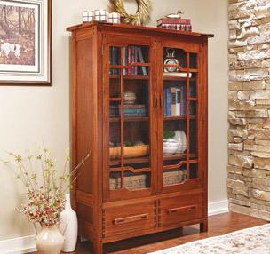 Greene & Greene-Style Bookcase