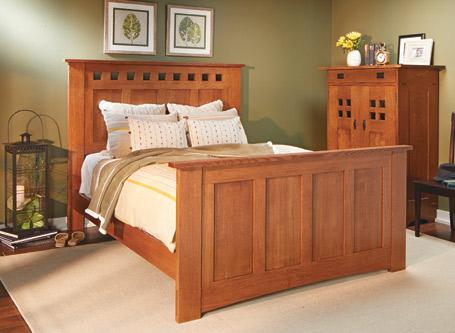 Classic Craftsman Bed