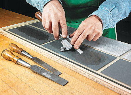 Sandpaper Sharpening