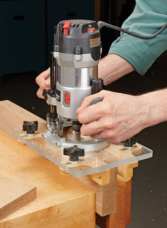 Auxiliary Router Bases