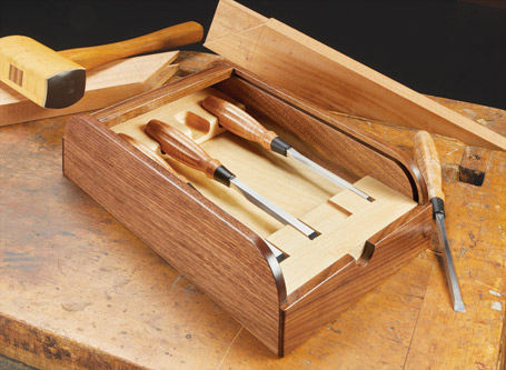 Roll-Top Chisel Case