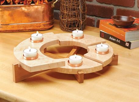 Tealight Candle Centerpiece