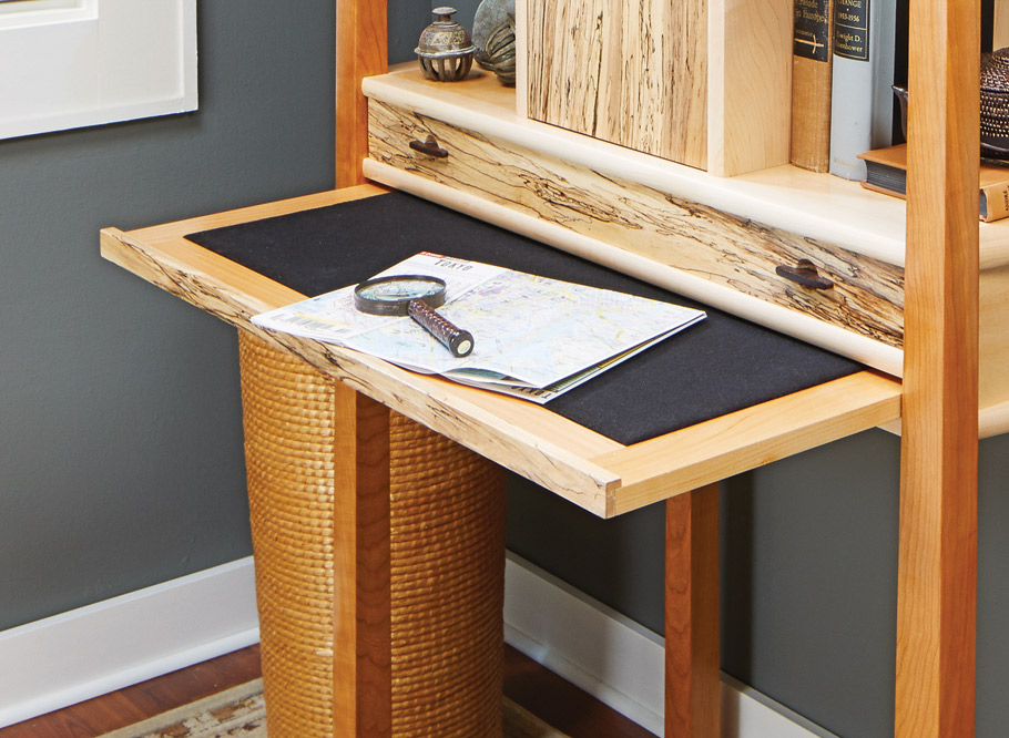 This elegant cabinet, with its clean, strong lines, is as much a work of art as the objects that you display in it.