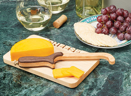 Mini Cutting Board & Cheese Slicer
