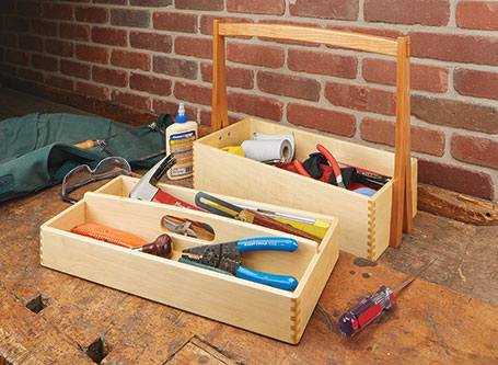 Stackable Tool Tote