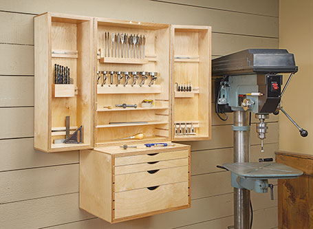 Drill Bit Storage Center