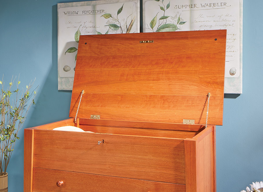 Expanding on a historically sweet project, this version of a sugar chest lets you sink your woodworking teeth into it without fear of cavities.