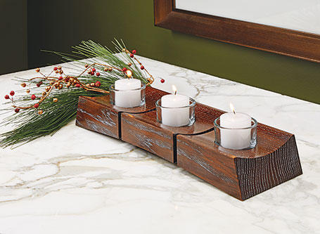 Charming Candle Centerpiece