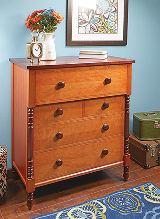 Empire Chest-of-Drawers