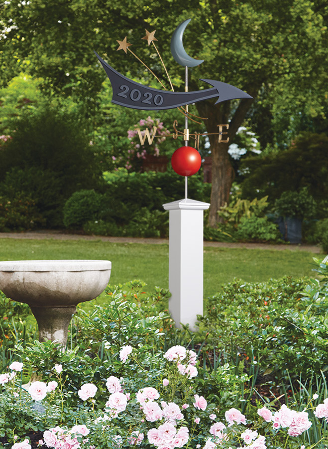 Ready to take your woodworking in a new direction? Try out this working weather vane. Simple woodworking, some turning, and a little metal work combine into a fun project.