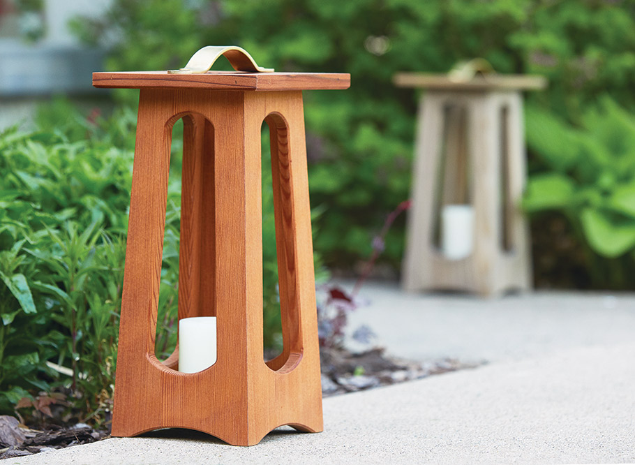 Whether out on the deck or inside on a table, these lanterns make a bright addition to your home. And you can build them in just a weekend.
