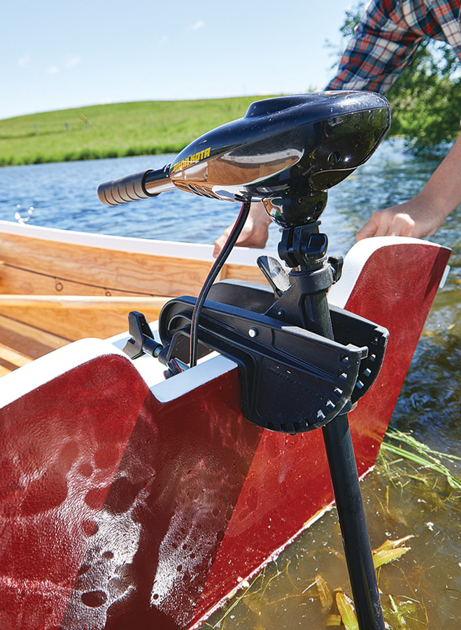 Plywood construction, some epoxy, and a little bit of time are a small investment when compared to the sheer joy you'll have on a lazy summer afternoon rowing around in your new fishing boat.